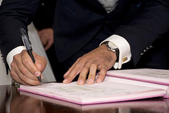 Conclusion du Pacs en mairie le 1er novembre 2017