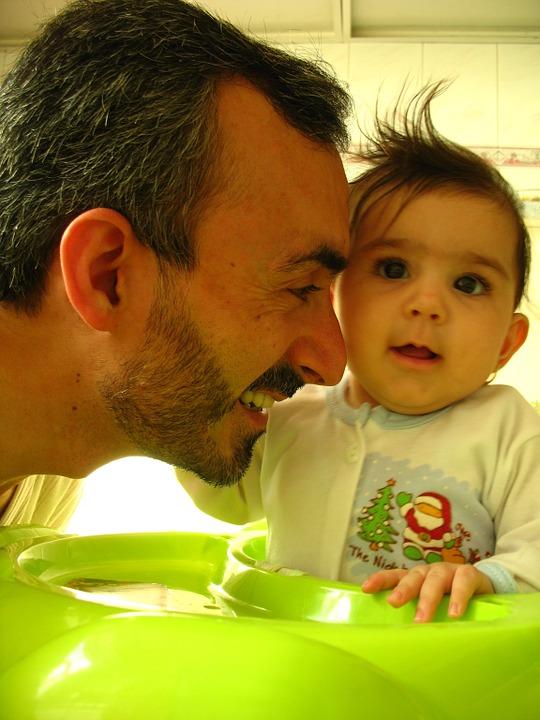 Congé parental pris par le papa