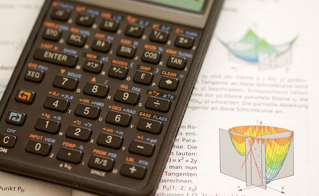 calculatrice pour la rentrée au lycée