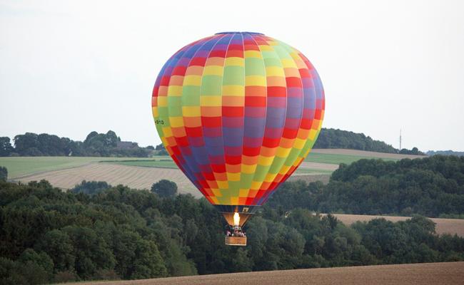 faire un vol en montgolfière